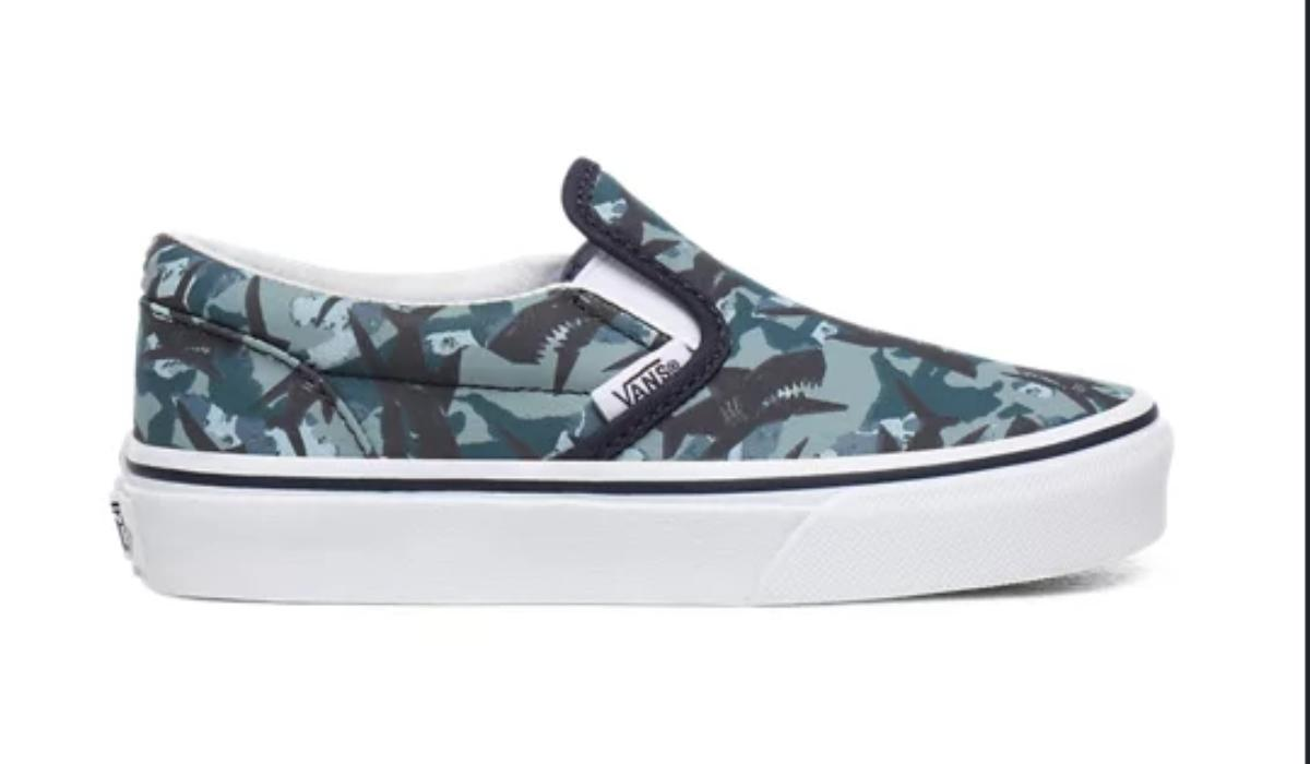 ANIMAL CAMO SLIP ON